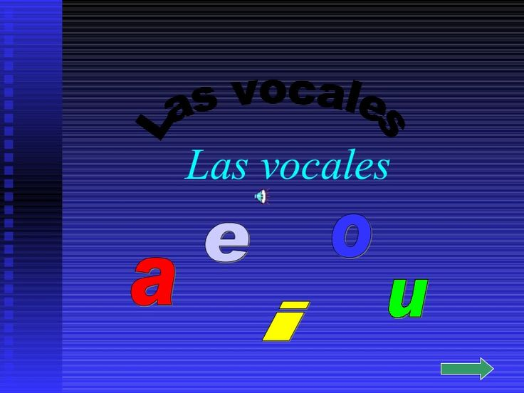 Vocales by mufin via slideshare