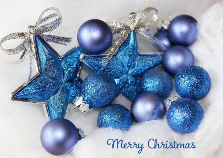 Christmas stars and bauble | Weihnachtskarten | Echte Postkarten online versenden | MyPostcard.com
