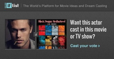 Chris Brown (2) as Phury in The Black Dagger Brotherhood? Support this movie proposal or make your own on The IF List.