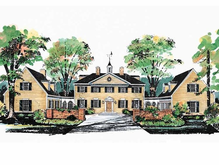 53 best dream house images on pinterest dream homes dream houses your own personal mount vernon eplans plantation house plan george washington slept here 3450 square feet and 5 bedrooms from eplans house plan code malvernweather Gallery