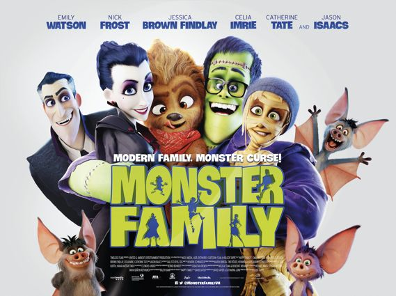 Coming up in #2018 #Films for the #family #kids #animation Monster