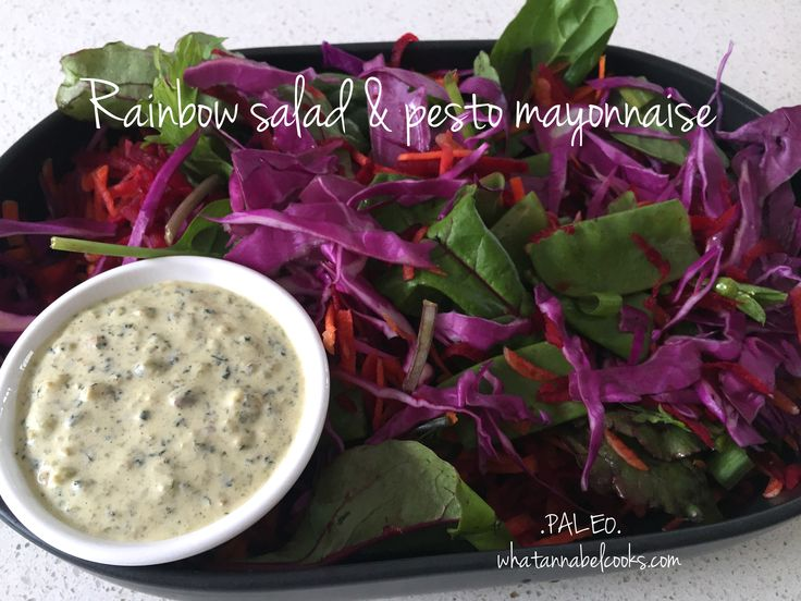 I don't use purple cabbage all that much but when I added it to this salad, it just looked so gorgeous! I don't know about you but I get into a rut with salads. After a while they are all very simi...