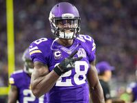 The Raiders and Seahawks are atop Adrian Peterson's wish list in free agency, NFL Network's Stacey Dales reported. Will Peterson choose a new home by the end of the night?