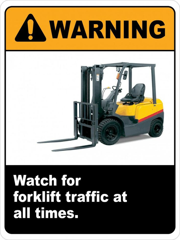Forklift safety 8 rules for dating. Dating for one night.
