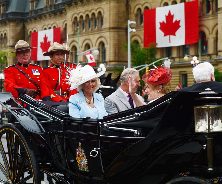 Prince Charles and Camilla visited Ottawa as part of the Prince's 18th royal visit to Canada