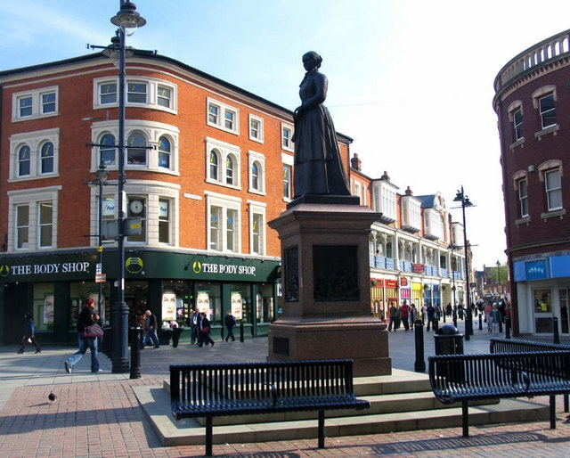 Walsall, Staffordshire, England - Birthplace of Grandfather William Ashby
