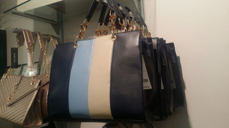 Blue handbag, Miladys <3