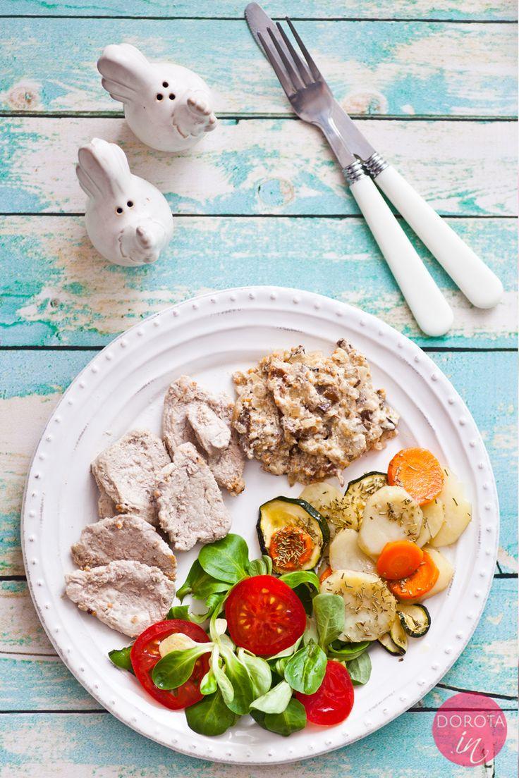 Polędwiczki z sosem grzybowym na #obiad - prosto i smacznie oraz szybko :). http://dorota.in/poledwiczki-z-sosem-grzybowym/  #food #kuchnia #przepis