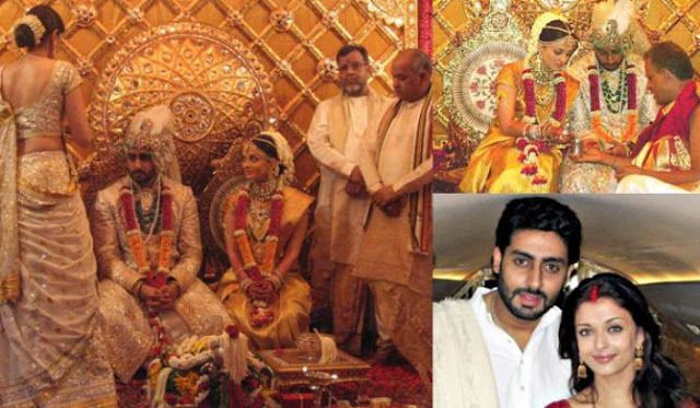 9 Most Expensive Bollywood Weddings That Looked Like A Royal Affair With Images Bollywood Wedding Celebrity Weddings Indian Wedding