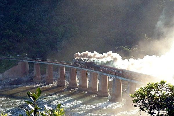 Blast From the Past Outeniqua Choo Tjoe Train - South Africa-Most Amazing Train Railway