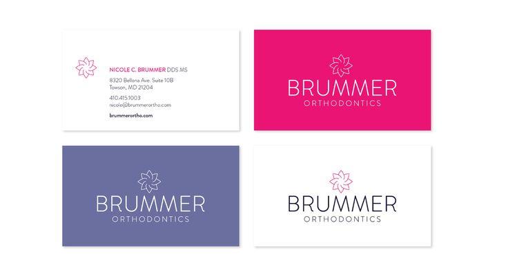 Brummer Orthodontics Business Cards