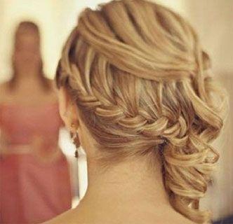 te damos algunas ideas en fotos de peinados para una boda para pelo largo corto