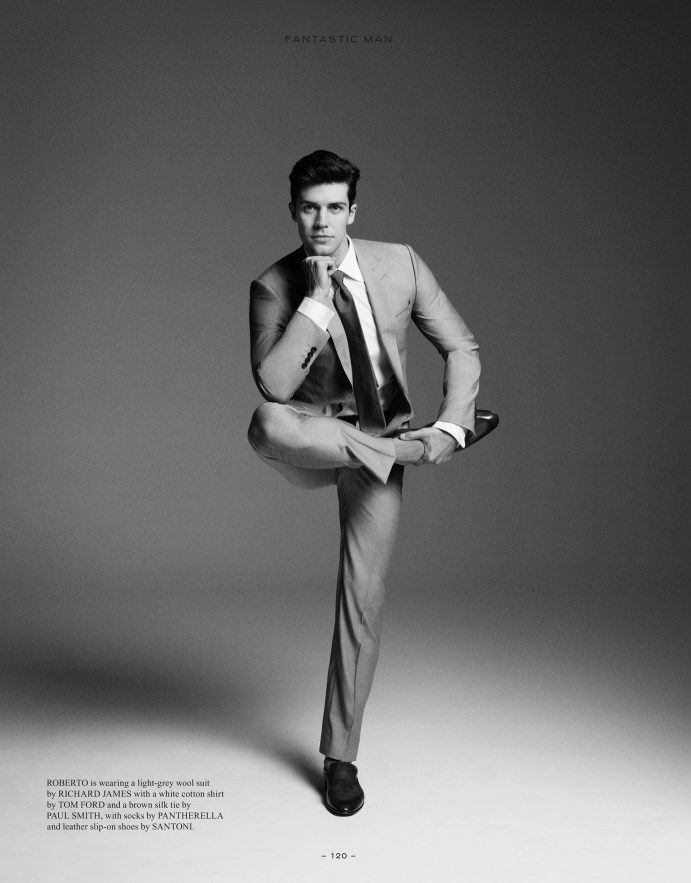Roberto Bolle - professional ballet dancer / model.