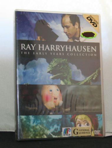 RAY-HARRYHAUSEN-The-Early-Years-Collection-2-Disc-Special-Ed-DVD-NEW-Region-3