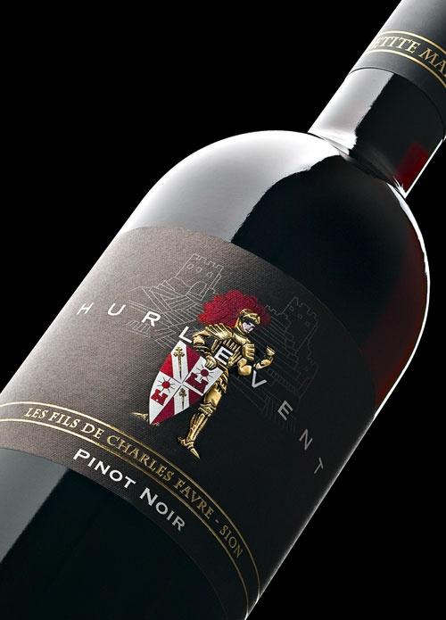 OCTANE communication | Les Fils de Charles Favre, Hurlevent  #wine #label #design #packaging