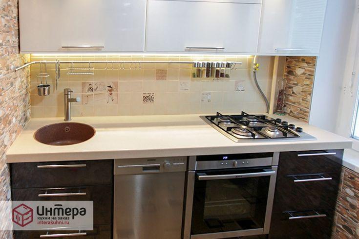 Дизайн интерьер очень маленькой кухни (13 фото)