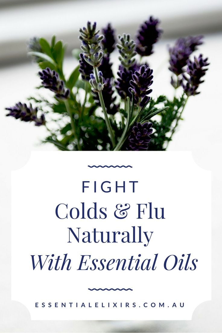 Fight colds and flu naturally with essential oils