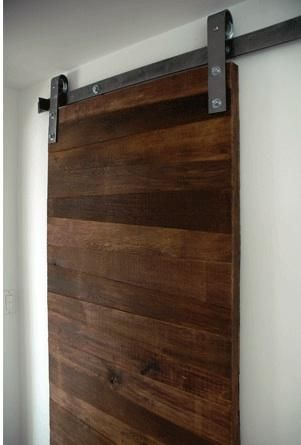 dark contemporary sliding door