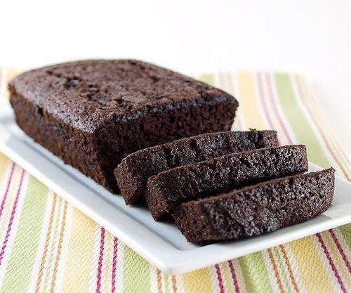 Chocolate Banana Bread with Coffee