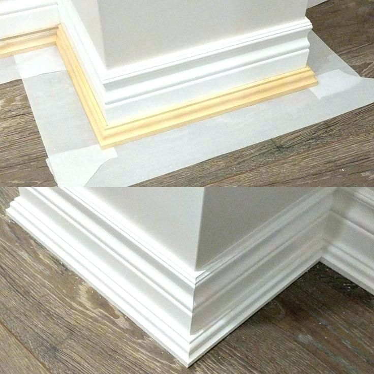 Image Result For Base Cap Moulding Baseboards Moldings And Trim Wood Trim