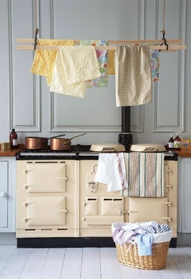 I can't have the aga :( but I can have the drying rack!