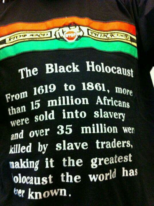 DEATH TOLL FROM THE SLAVE TRADE