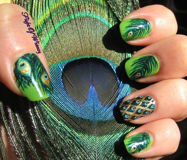 Mejores 106 imágenes de Art of colorful Nails en Pinterest | Uñas ...