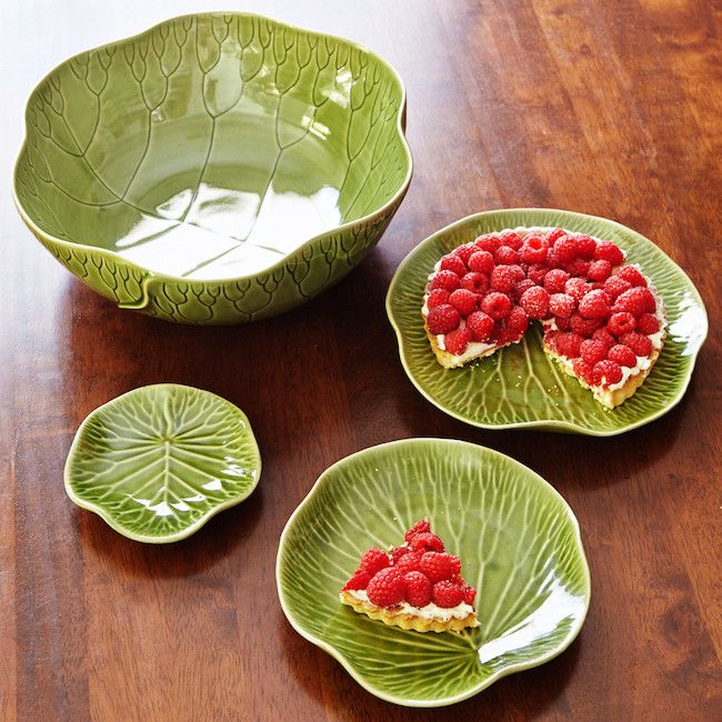 perfect for spring: handmade leaf ceramic plate | handmade in bali | connecting you with artisans around the globe | artisan connect