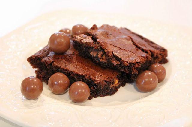 My Little Kitchen: Malteser brownie