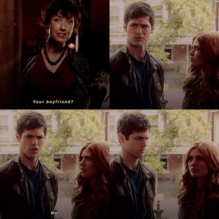 "I love how Clary is like ""how did you make that match?!"" and Alec is like ""Eww! No! I have a bf! WTF?!"" and then he looks at Clary like ""WTF did you tell her?!"" xxx"