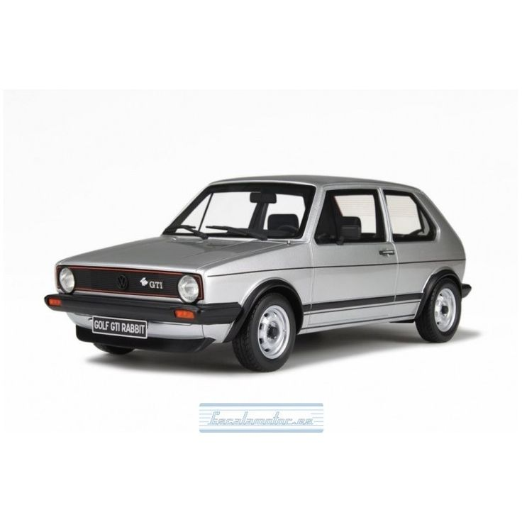 1979 VOLKSWAGEN GOLF GTI RABBIT SILVER
