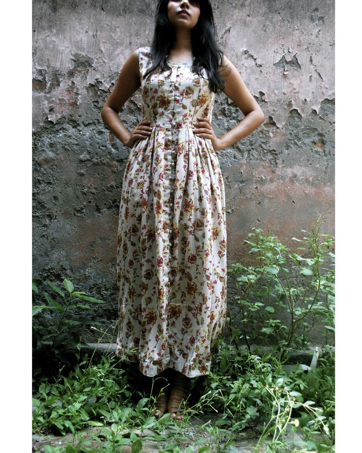 Floral tea dress by Itr   The Secret Label