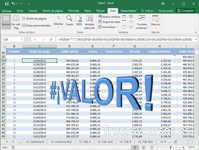 Pin En Excel General