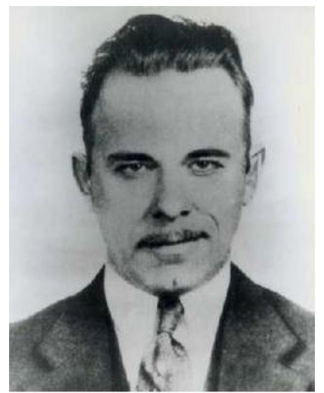 The life of john dillinger as an american gangster during the depression era of the united states