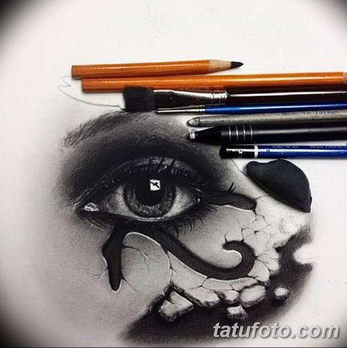 Значение тату «Око Ра»: смысл, история, фото рисунков, эскизы