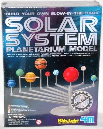 Other Kids' Arts & Crafts - Glow in the dark SOLAR SYSTEM Planeterium model ~ Build your own for sale in Johannesburg (ID:109012203)