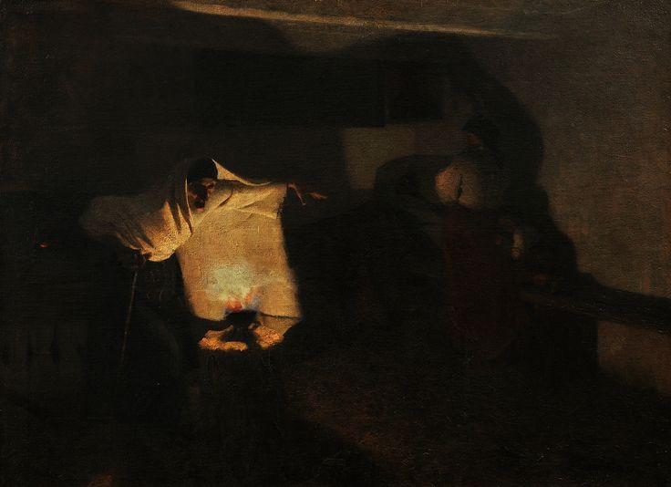 Taking off the evil spell by Stanisław Grocholski, 1888 (PD-art/80), Muzeum Śląskie w Katowicach