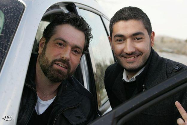 With Actor Yorgo Chalhoub