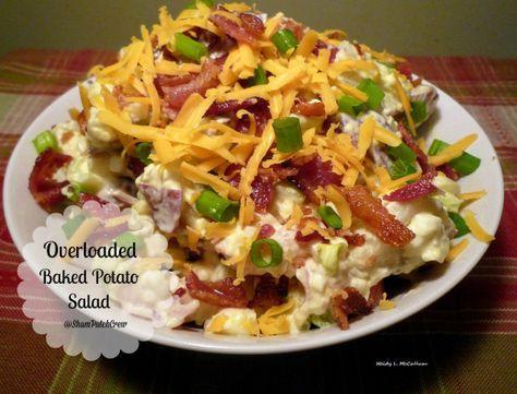 Overloaded #Baked Potato #Salad