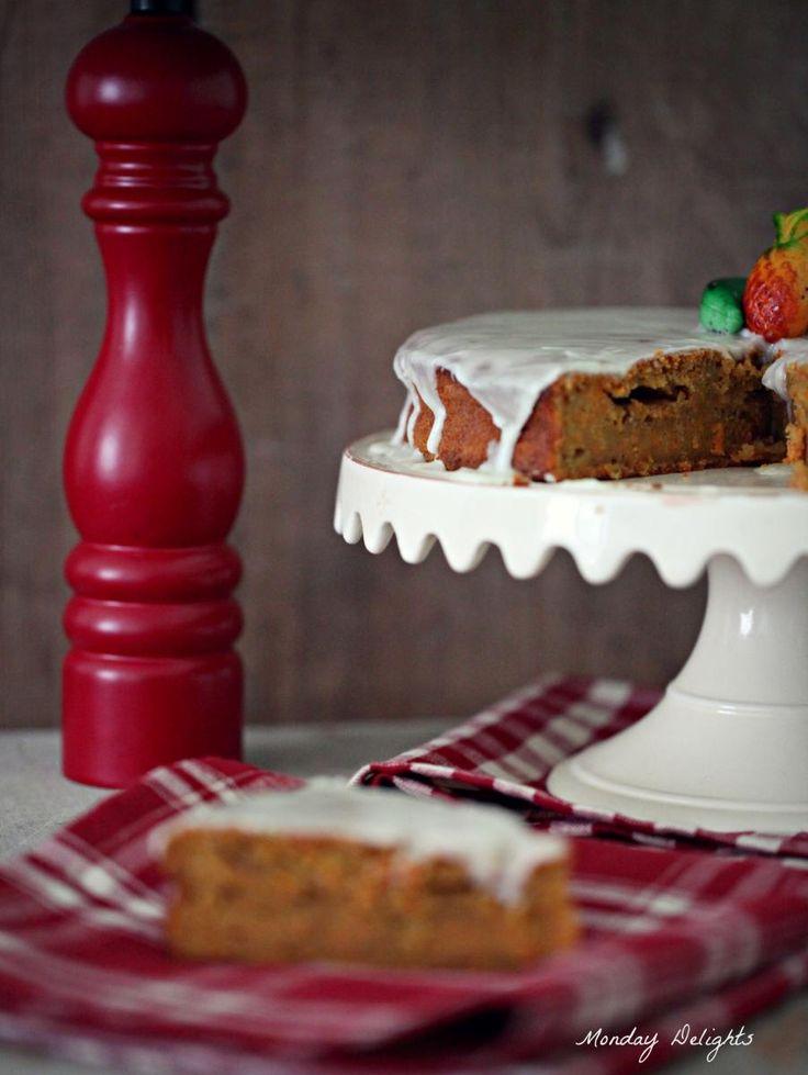 Рецепт - Самый мой любимый морковный пирог!