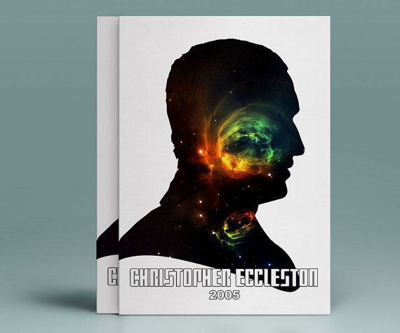 09 Doctor Who - Christopher Eccleston - The Ninth Doctor - INSTANT DIGITAL DOWNLOAD Print