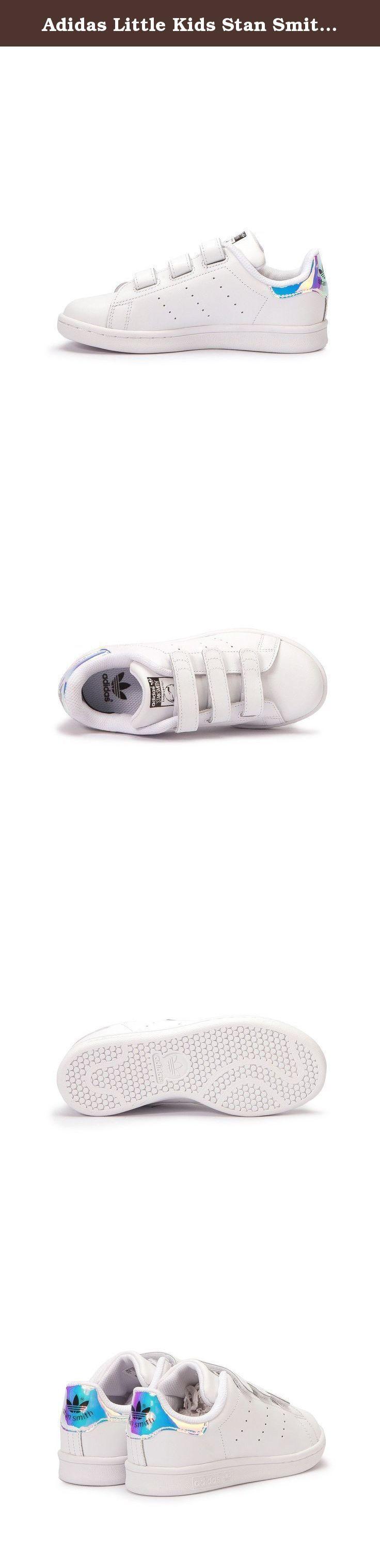 adidas little kids stan smith silver metallic silver footwear white size 2