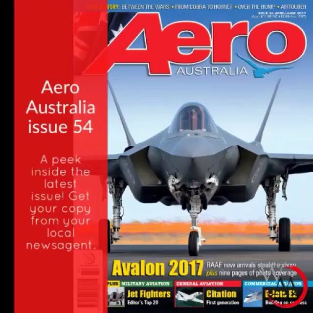 Aero Australia issue 54 (Apr-Jun 2017)  peek inside video.