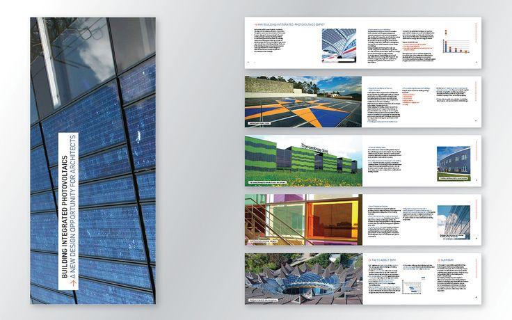 Brochure photovoltaïque architectes
