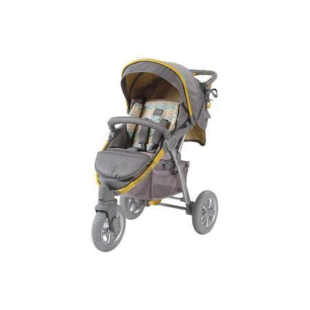 Happy Baby Прогулочная коляска Neon Sport, Happy Baby, серый/жёлтый  — 11490р.  Стильная всесезонная коляска Neon Sport отличается высокой проходимостью. Хорошая амортизация и маневренность позволит передвигаться, не нарушая сон ребёнка. Овальное сечение алюминиевой рамы обеспечивает  легкость и прочность. Матрасик из мягкой дышащей ткани, пятиточечные ремни безопасности с накладками и съемный бампер гарантируют комфорт и безопасность ребёнку. Объёмный капюшон со смотровым окошком…