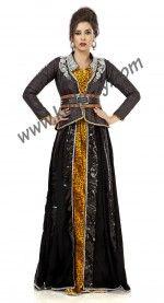 Extraordinary Black #Jacket Style #Moroccan #Designer #Kaftan