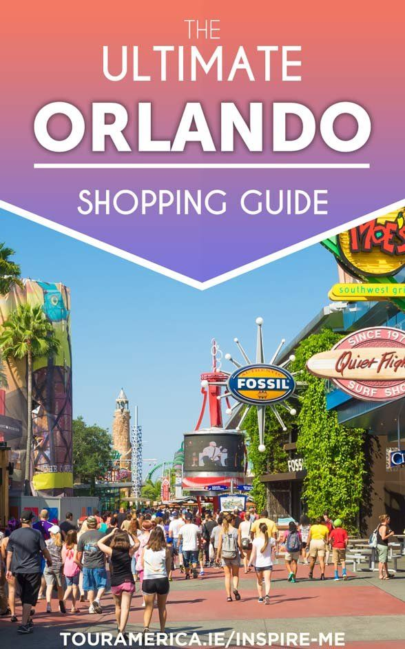 Heading to Orlando Florida this year? Check out our ultimate Orlando Shopping Guide!