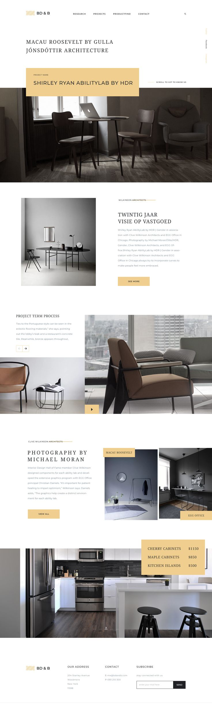 "Furniture Landing Page UI Design Follow me on <a href=""https://dribbble.com/AbirMahmood"" rel=""nofollow noreferrer"">Dribbble</a> 