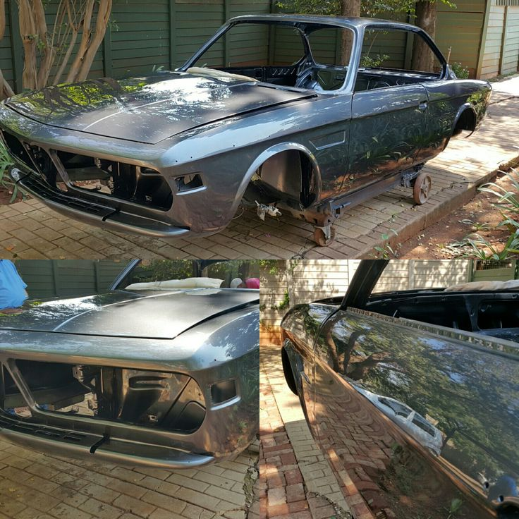 #BMW 3.0csi body restoration complete. This car will be stunning with all the chrome going back on. Hoping to get some pics from client once it's assembled.   Special thanks to our team for their hard work everyday  #galaxycustoms #classiccar #restoration #carrestoration #spraypaint #fabrication