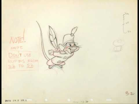 Fred Moore - Timothy Mouse Animation